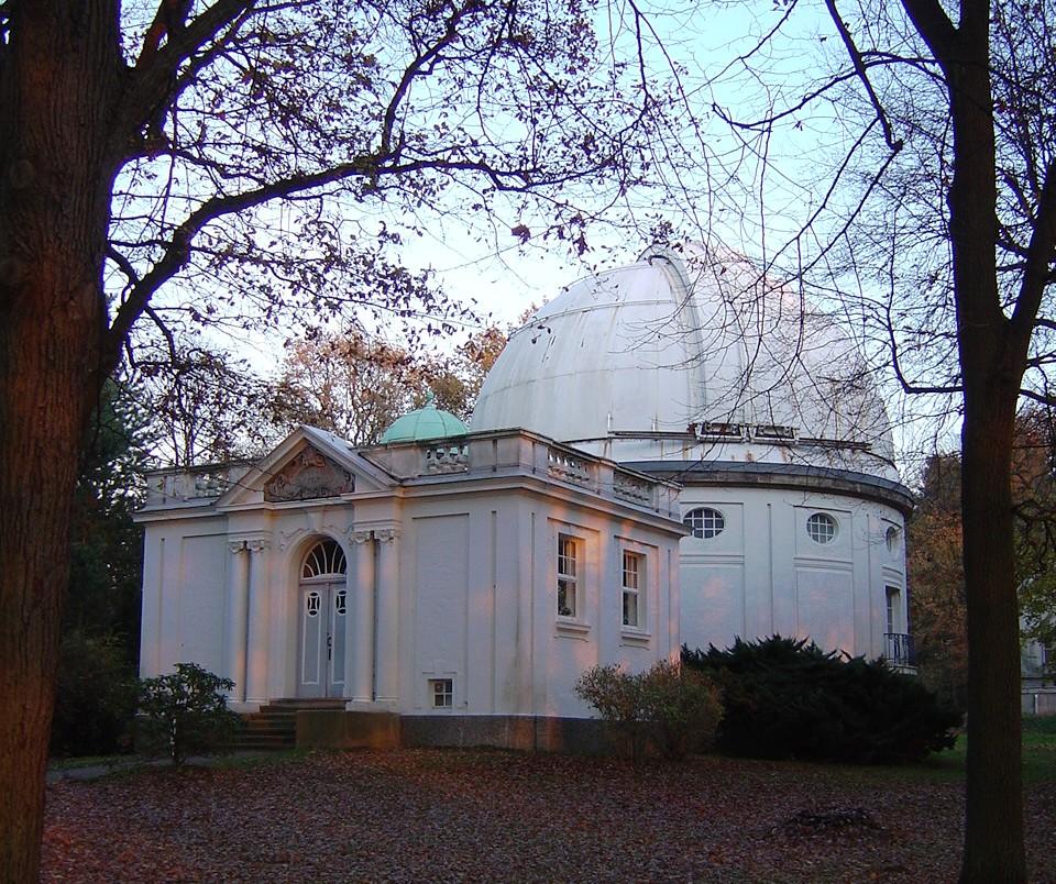 Kuppel der Sternwarte Bergedorf