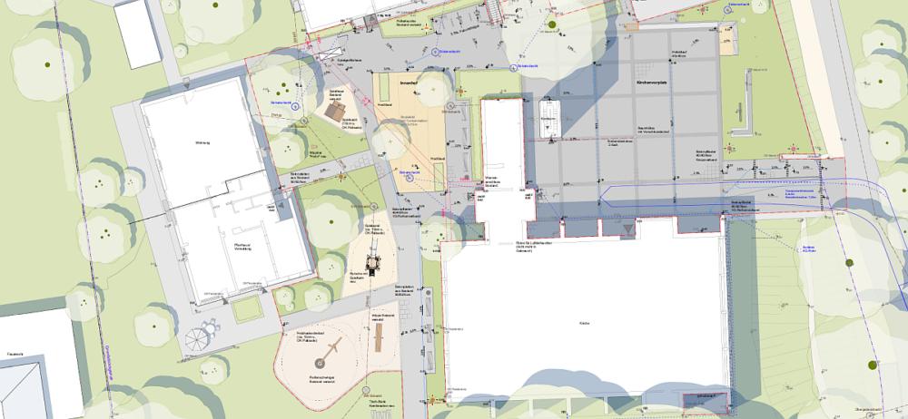 Plan zum Bewegten Kirchhof