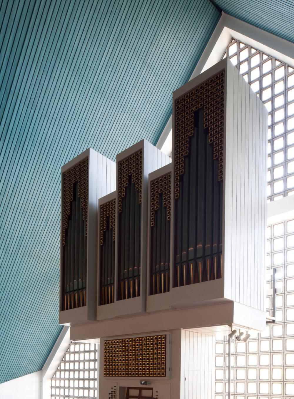 Hillebrandt-Orgel der Cornelius-Kirche